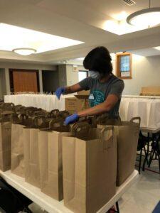 LaPointe Volunteers at New Hope Food Pantry